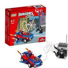 Lego Juniors Spider-Man Spider-Car Pursuit