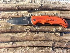 Set of 1, Personalized Knife,Survival Knife, Laser Engraved, Christmas, Hunting Knife, Best Man, Groomsman Gift, Birthday Gift