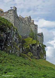 Duart Castle or Caisteal Dhubhairt, Isle of Mull, Scotland