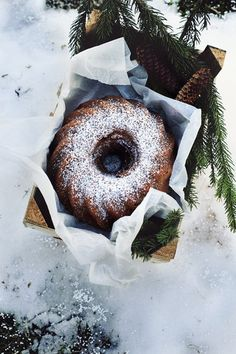 Bundt cake with orange and chocolate