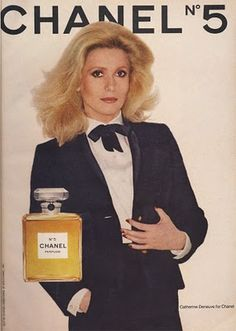 One of my lady crushes - Chanel Advertisement from 1979 starring Catherine Deneuve