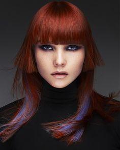 gorgeous red hair