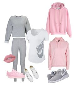 """Untitled #7"" by stacey-mcbroom-senseman on Polyvore featuring NIKE, Miss Selfridge, Topshop, Converse, adidas Originals and Lime Crime"