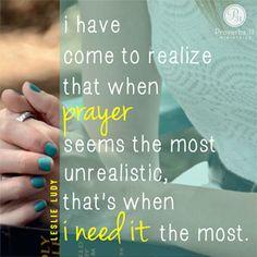 When Prayer Seems Impractical — Proverbs 31 Ministries Devotions