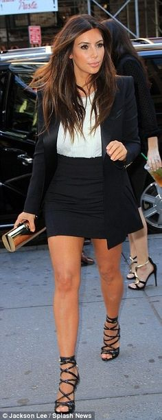Kim K LOVE her style. I'm Obsessed!