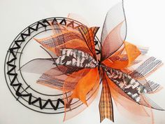 New Orleans Crafts by Design: How to Make a Deco Mesh Sunburst Wreath