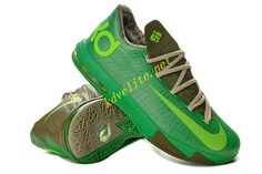 new styles c1bed 5689b Bamboo Court Green Nike KD VI Olive Volt 599424 065 Nike Kd Vi, Nike Zoom