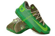 new styles b62cf c7854 Bamboo Court Green Nike KD VI Olive Volt 599424 065 Nike Kd Vi, Nike Zoom