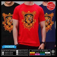 T-Shirt Piala Dunia Rusia 2018 Espana