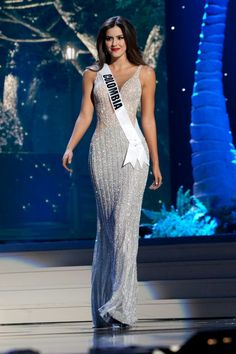 Miss Universe Paulina Vega Miss Colombia. Pageant Girls, Pageant Dresses, Formal Dresses, Wedding Dresses, Long Dresses, Beautiful Girl Indian, Most Beautiful Women, Miss Universe 2015, Sexy Gown