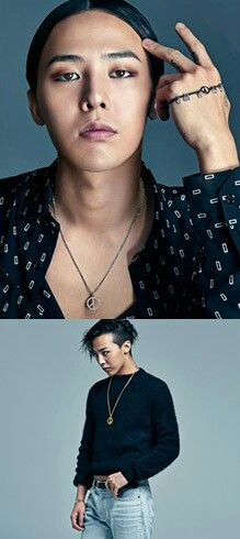 G-Dragon's photos from the website: