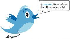 how improve customer service via #Twitter