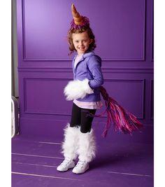 Crochet Unicorn Outfit : Unicorn Costume