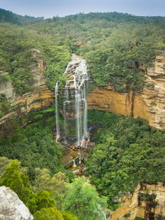Wentworth Fall , Blue Mountains, #Australia