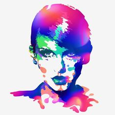 Taylor Swift Illustrations and Digital Art by Bram Vanhaeren