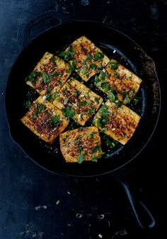 "Spicy Griddled Tofu ""Steaks,"" by thewoksoflife.com"