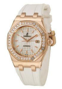 Audemars Piguet Lady Royal Oak Women's Automatic Watch 77321OR-ZZ-D010CA-01  $24,080.00  #LuxuryWatches #AudemarsPiguet