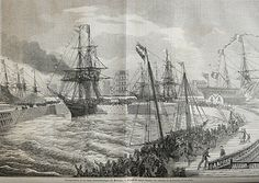 Steamship Louisiana lleaves Saint Nazaire bound for Mexico in 1862  http://www.digitaljournal.com/image/110478#ixzz2KWfFl9lp