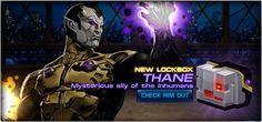 From Marvel: Avengers Alliance – Thane, Son Of Thanos?