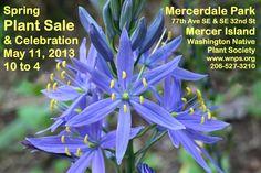 Spring sale poster Western Washington, Plant Sale, Sale Poster, Spring Sale, Native Plants, Nativity, Arch, Gardening, Longbow