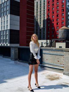 Lindsay Ellingson by Stewart Shining for L'Officiel Turkey September 2015 - Louis Vuitton Fall 2015