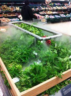 Supermarket Design | Produce Areas | Retail Design | Shop Interiors | Tesco Extra Wembley