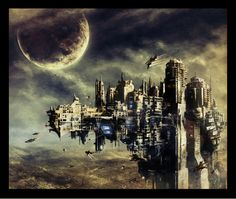 23 Stunning Matte Painting Examples
