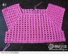 Crochet: DRESS FOR GIRLS na Stylowi.pl
