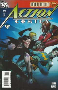 DC Superman Action Comics issue 878