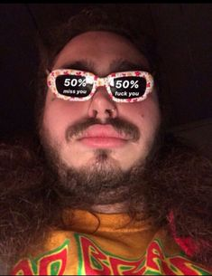 (Post Malone) miss you fuck you Meme Stickers, Snapchat Stickers, Stupid Funny Memes, Funny Relatable Memes, Humour Snapchat, Funny Snapchat, Rauch Fotografie, Post Malone Wallpaper, Response Memes