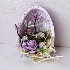 Arts And Crafts Style Furniture Easter Arts And Crafts, Easter Egg Crafts, Easter Eggs, Diy And Crafts, Easter Table Decorations, Diy Ostern, Art N Craft, Egg Art, Deco Table
