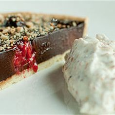 Try this Chocolate Tart with Fresh Raspberries  recipe by Chef Richard Corrigan. This recipe is from the show Cookery School.