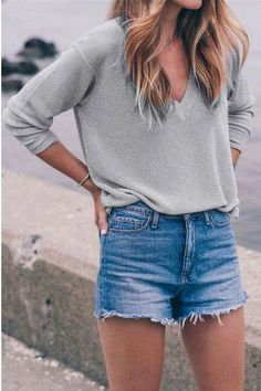 Bottoms Hot Pants Women Hand Drill Tassel Colored Beads Flower Jeans Shorts Break Hole Broad Leg Trousers Girl Lady Grey Denim Shorts Bringing More Convenience To The People In Their Daily Life