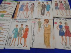 All Sz 16 or 14 U Pick 1950s 1960s Sewing by AngieFoundit4U