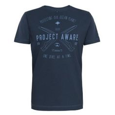 Project AWARE  Our Ocean Planet - New Fourthelement t-shirt