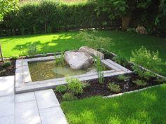 Ein Reihenhausgarten – Matthias Lutz – Der Garten