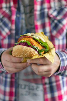 Burger di lupini
