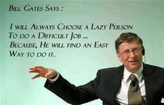 bill gates being bill gates