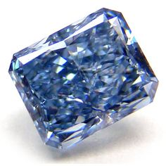 Fancy Intense Blue Diamond, GIA certified.