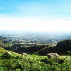 View from the top of Te Mata Peak #NewZealand