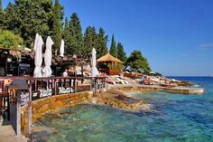 Hula Hula Beach Club - Hvar. A more affordable option to Bonj Les Bains. Great food, bar & beach scene, with vibrant feel & younger crowd, late afternoon blends easily into early evening partying...
