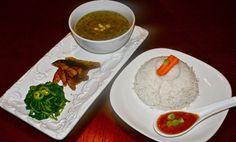Simple Daily Nepali Meal