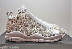 Mens Air Jordan 10 Accolades Premier White Blue shoes