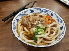 Look at that!! #udon #noodles #jfood #nikkuudon #favorite