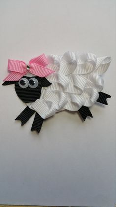 Hey, I found this really awesome Etsy listing at https://www.etsy.com/listing/268436251/little-bo-peep-sheep-clip-ribbon
