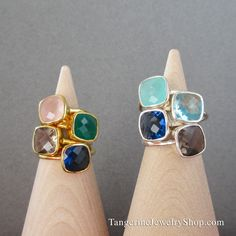 So many options with stackable rings!