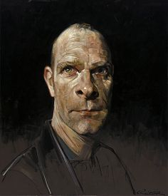 Sebastian Kruger, Self-portrait
