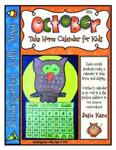 16 best calendars for kindergarten images on pinterest day care