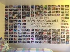 Picture Collage Wall Photo Collage Ideas without Frames 42 Wall Collage without Frames 17 Layout Ideas Small Room Bedroom, Dorm Room, Diy Bedroom, Bedroom Ideas, Trendy Bedroom, Bedroom Photo Walls, Bedroom Colors, Bedroom Frames, Bedroom Wardrobe