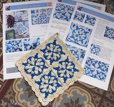 Ah mes azulejos, dans mon entrée ... pavée !